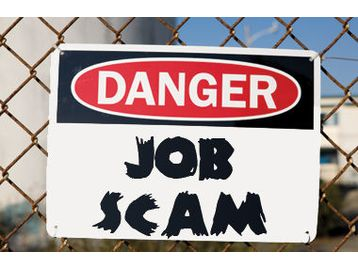 Job hunting? Read the following to keep yourself from beingscammed