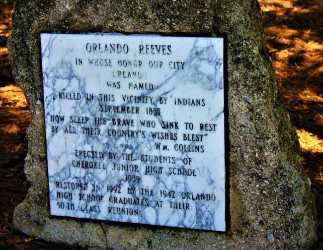 Orlando Reeves Memorial