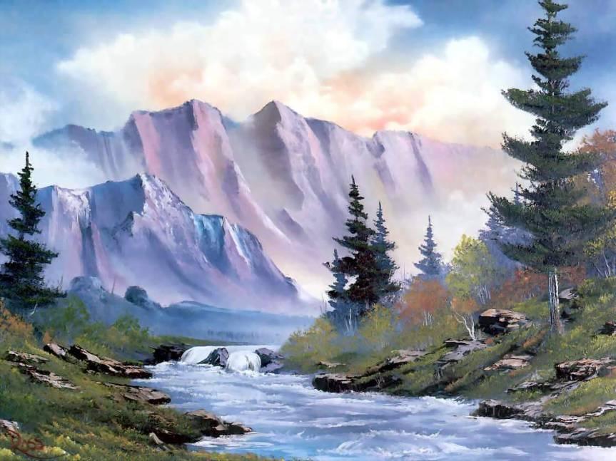 Bob Ross Painting3