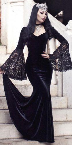 Black gothic-wedding-dress