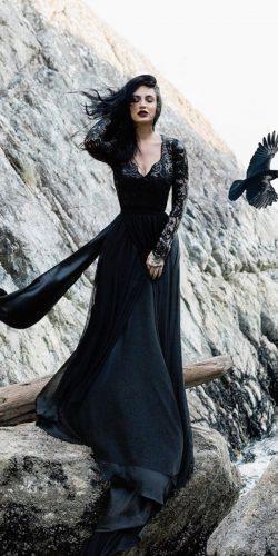 black wedding dress3