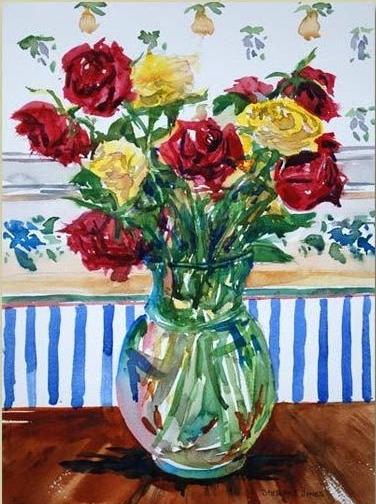 Local artist: Watercolor paintings by StewartJones