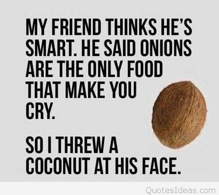 Funny coconuts