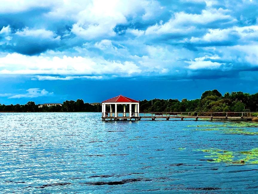 Florida photos: Lake Baldwin, before therain…