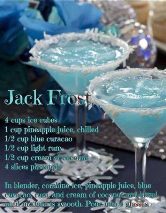 Winter Christmas Cocktails