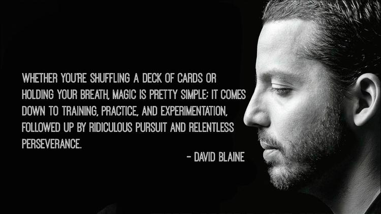 David Blaine April 4th birthday
