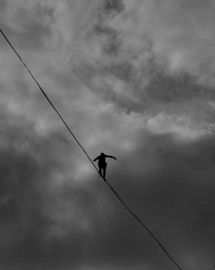 Moody Monday: Somewhere between selfishness andselflessness
