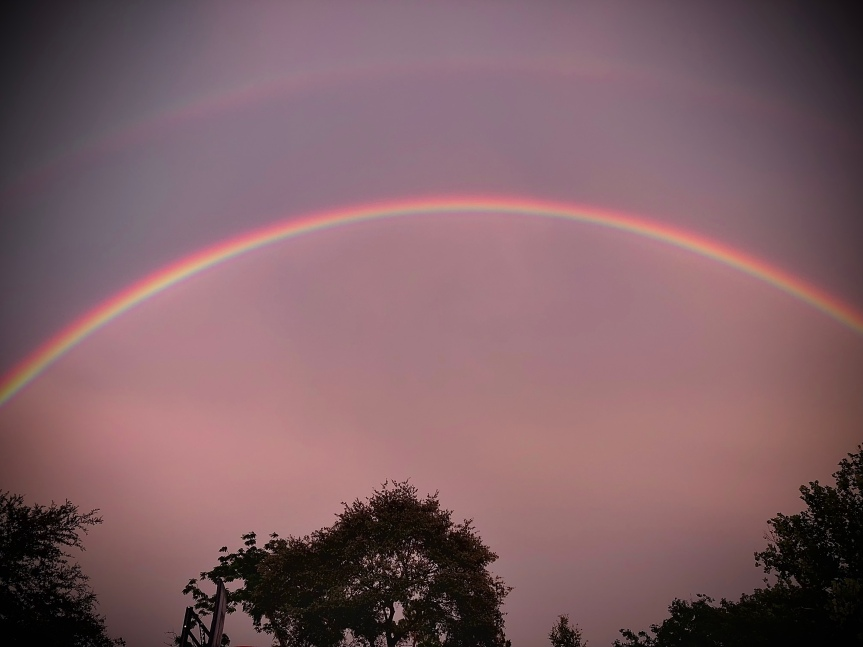 Moody Monday: When I left there was arainbow