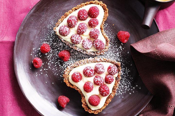 Valentine's Day dessert tarts, Best Valentine's food