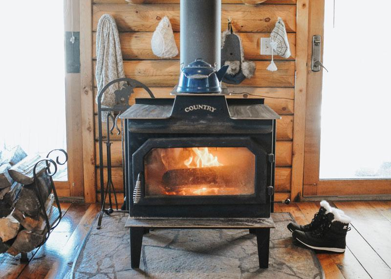 wood stove for the love of fire