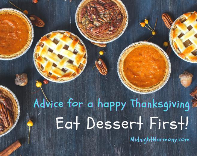 Reblog: Feeling crummy on Thanksgiving? fromMidnightHarmony