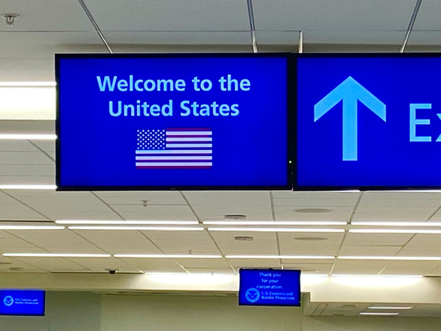 Modern day travel questions and… back inAmerica!